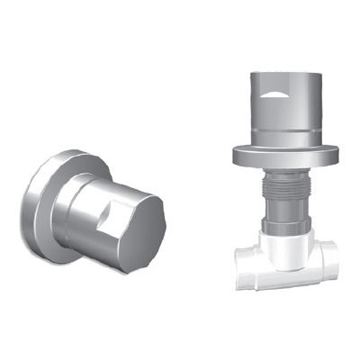 Lux Embedded Stop Valve