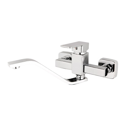 Kitchen Sink Wall-Mounted Mixer